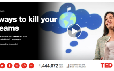 5 Ways To Kill Your Dreams – from TED