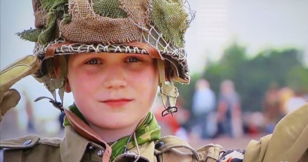An 11 Year Old Boy's Touching Tribute To Fallen Soldiers