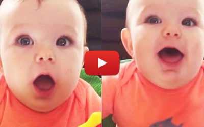 "Baby Tries To Say ""Mama"" For First Time – What Comes Out Instead?"