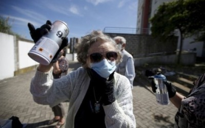 Grab A Can Of Spray Paint And Join Graffiti Grandma!