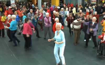 The World's Oldest Flash Mob!