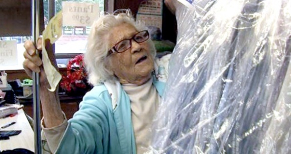 Amazing Woman May Be America's Oldest Employee