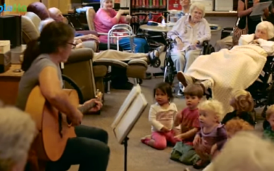 A Preschool In A Nursing Home – Brilliant!
