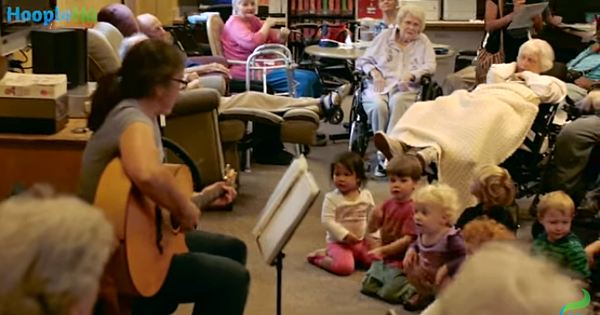 A Preschool In A Nursing Home – Brilliant!