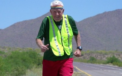 Running Across America At The Age of 92!