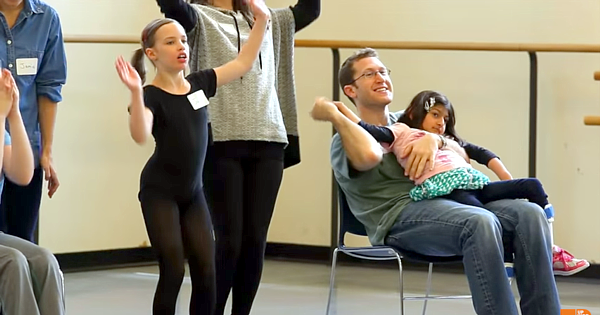 A Wonderful Act Of Kindness By The NYC Ballet