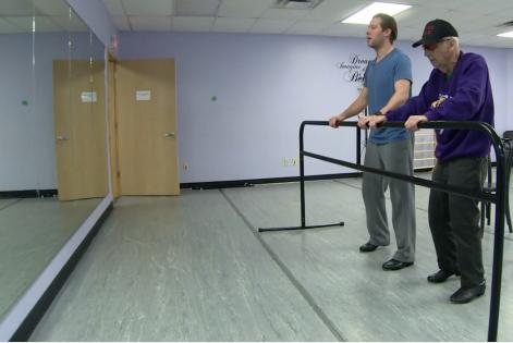 Navy Veteran Turned Tap Dancer