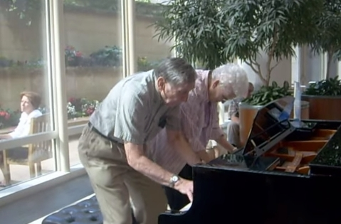 Piano Playing Power Couple