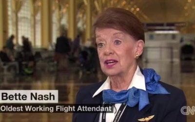 Bette Nash: The 80-Year-Old Flight Attendant!