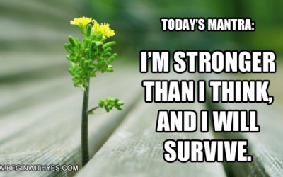 You're Stronger Than You Think!