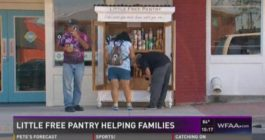 Little Free Pantry Helps Those In Need